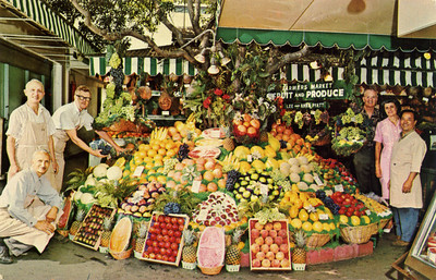 Farmers' Market Fruit and Produce