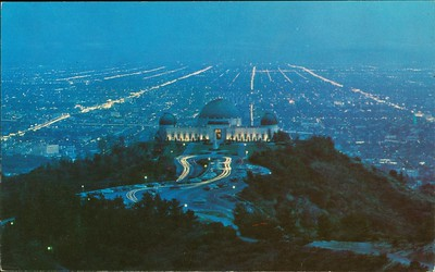 Griffith Observatory at Dusk