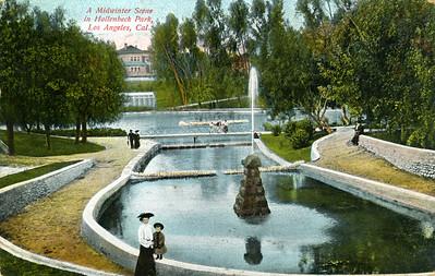 Midwinter Park Scene