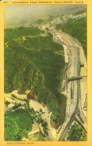 Cahuenga Pass Aerial