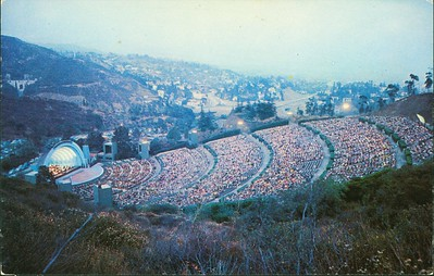 Hollywood Bowl at Dusk