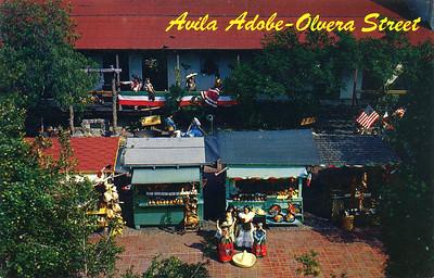 Avila Adobe - Olvera Street