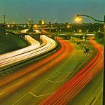 Freeway Light Streaks