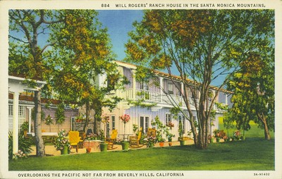 Will Rogers' Ranch House