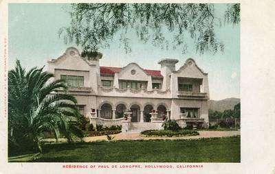 Residence of Paul de Longpre