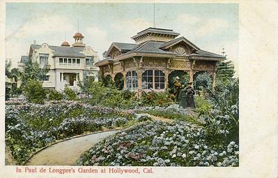 In Paul de Longpre's Garden