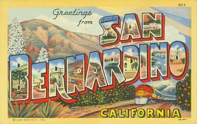 Greetings San Bernadino