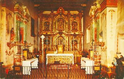 Mission San Juan Capistrano Altar