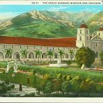 Santa Barbara Mission and Grounds