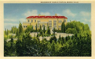 Residence of Charlie Chaplin
