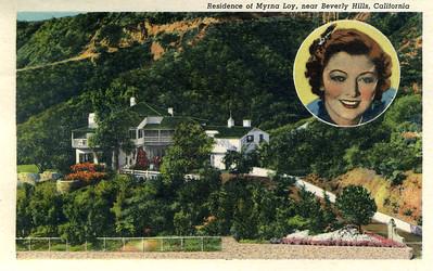 Residence of Myrna Loy