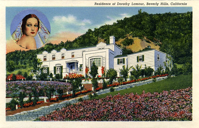 Residence of Dorothy Lamour