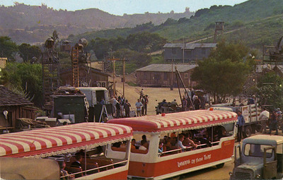 Tram at Movie Shoot