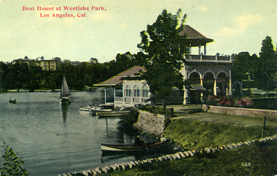 Boat House at Westlake Park