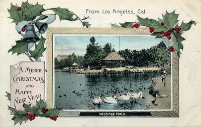 Westlake Park Christmas Card