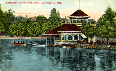 Boathouse at Westlake Park