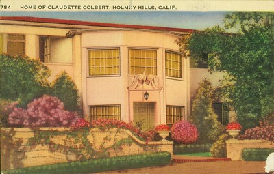 Home of Claudette Colbert, Holmby Hills, Calif.