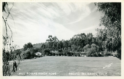 Field at Will Rogers Ranch Home