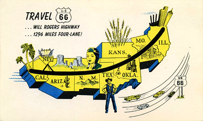 Will Rogers Highway Map