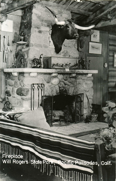 Will Rogers Fireplace