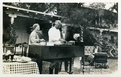 Barbecue at Will Rogers' Ranch