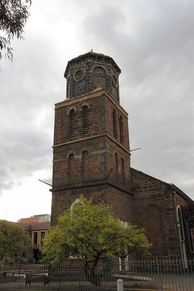 St James Old Cathedral.<br /> <br /> Corner Batman Street & King Street, Melbourne.