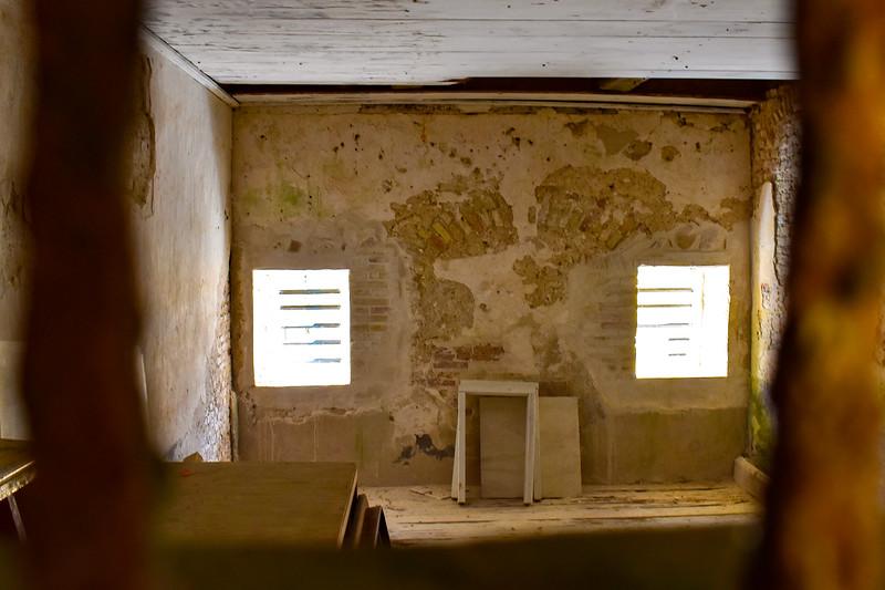 Fort Christiansværn - Soldiers Barracks/Detention Cell