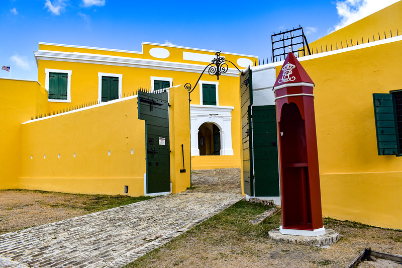 Fort Christiansværn - Guardbooth, Post, & Ravelin