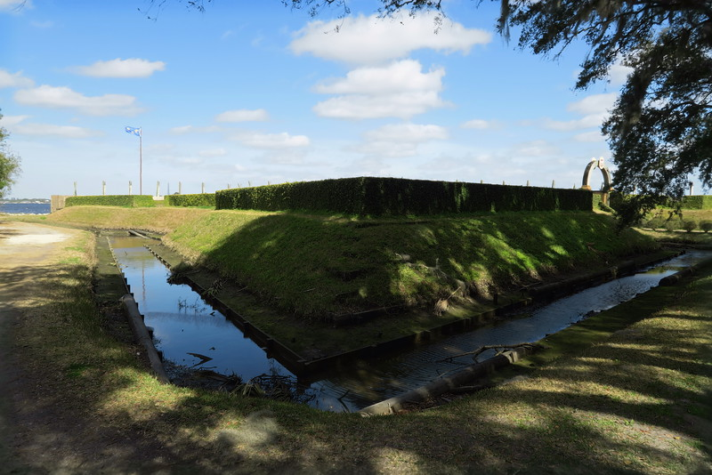 Fort de la Caroline Exterior