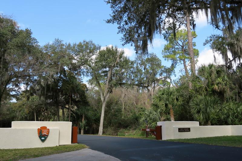 Fort Caroline National Memorial Entrance