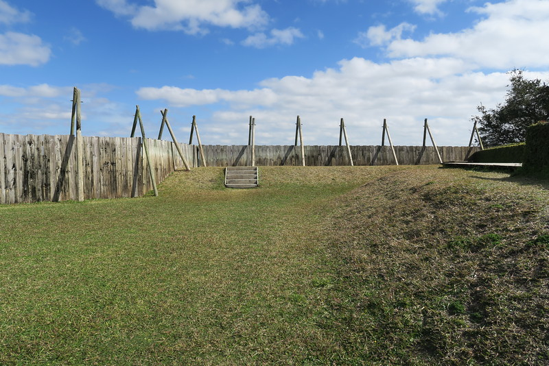 Fort de la Caroline Interior