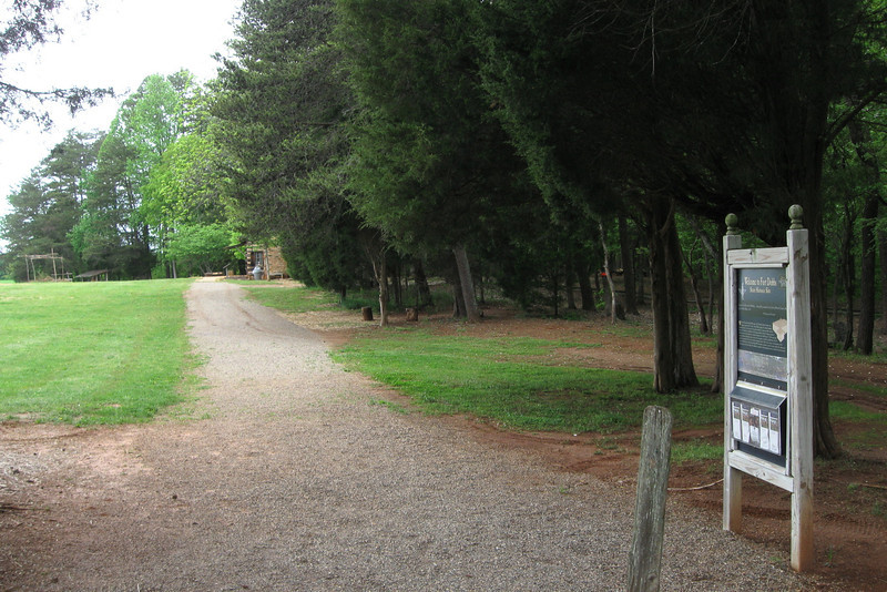 Fort Dobbs State Historic Site Entrance
