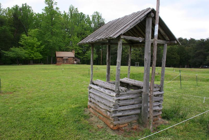 Fort Dobbs - Interior Well
