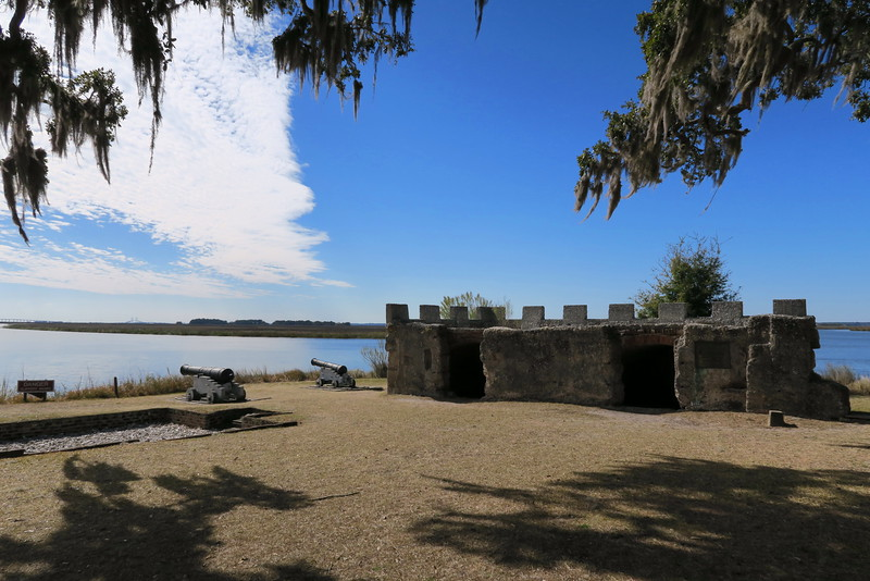 Fort Frederica - King's Magazine