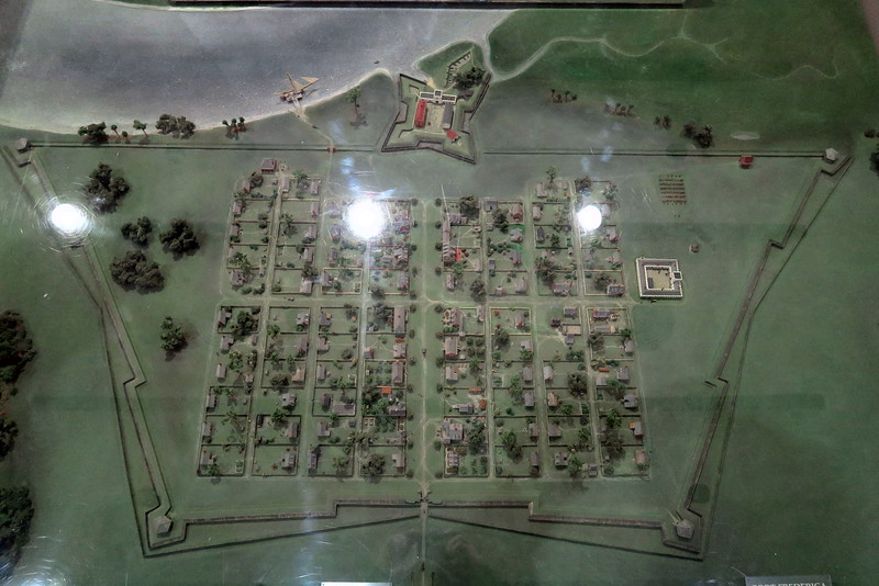 Fort Frederica & Town Layout