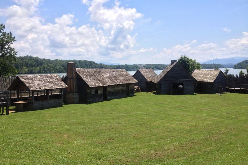 Fort Loudoun - Southeastern Corner