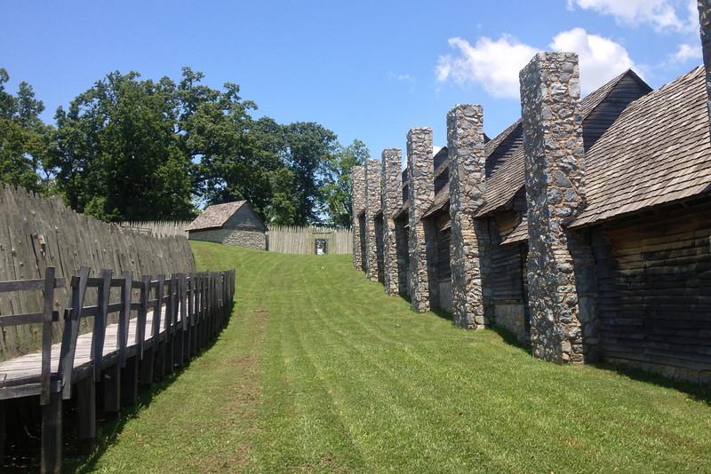 Fort Loudoun - West Wall