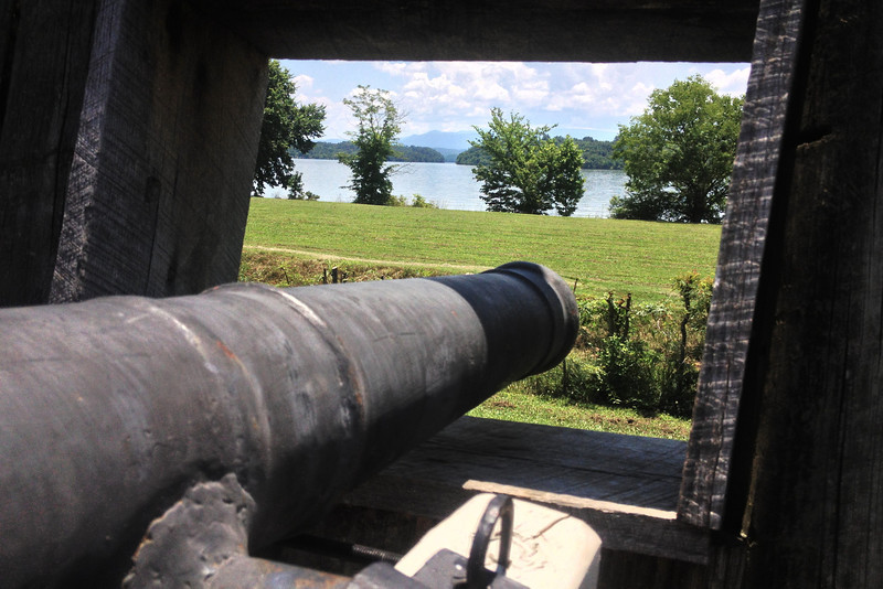 Fort Loudoun - South Wall Cannon