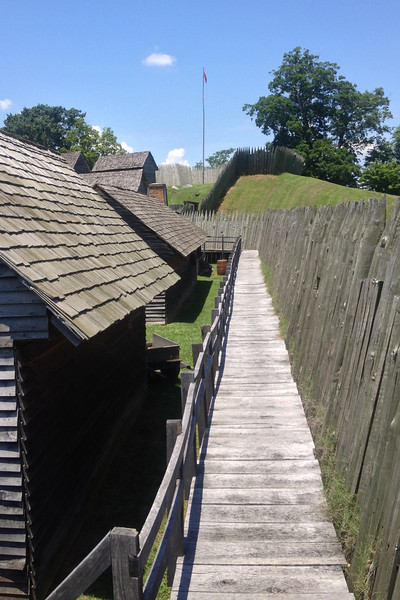 Fort Loudoun - North Wall