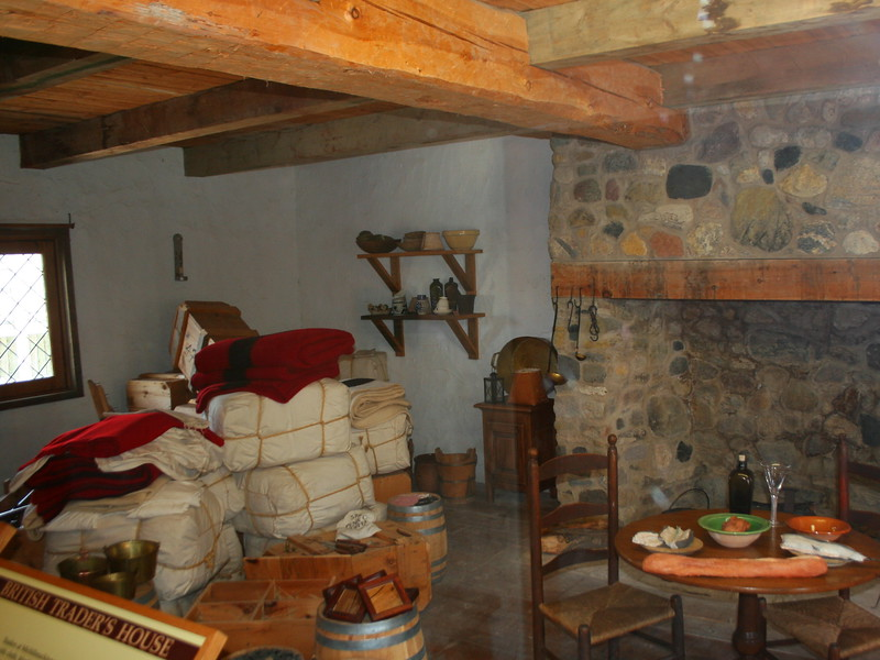 British Trader's House (Interior)