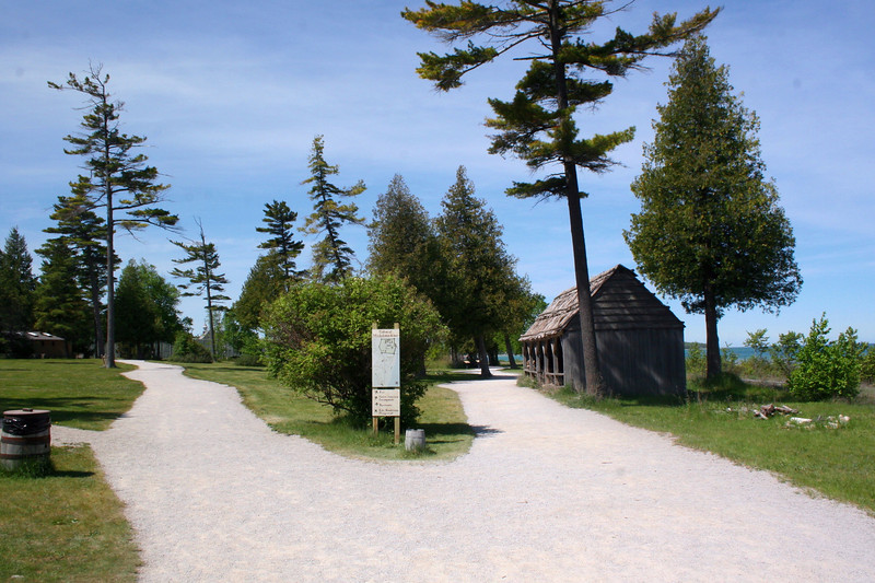 Fort Michilimackinac - Entrance Path