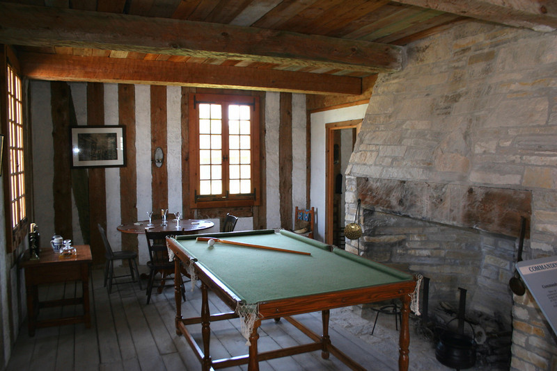 Commanding Officer's House (Interior)