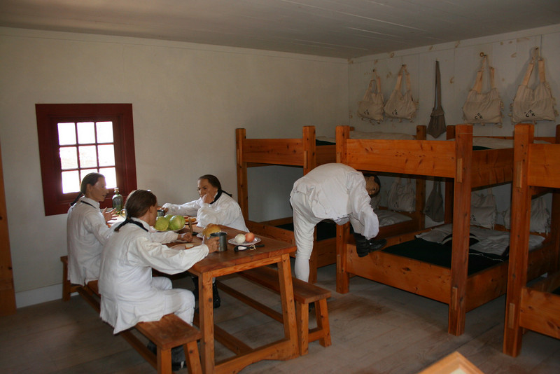 Soldier's Barrack's (Interior)