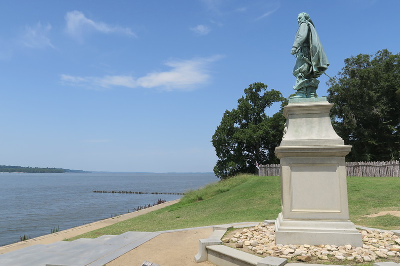 6 -- James Fort (ca. 1607) - John Smith Statue