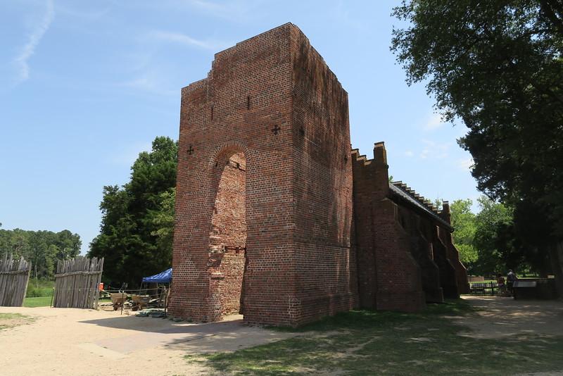 4 -- Jamestown Church Tower (ca. 1690)