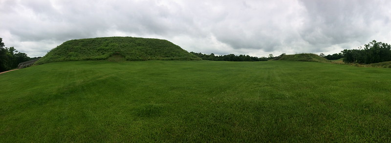 Great and Lesser Temple Mounds, and Plaza