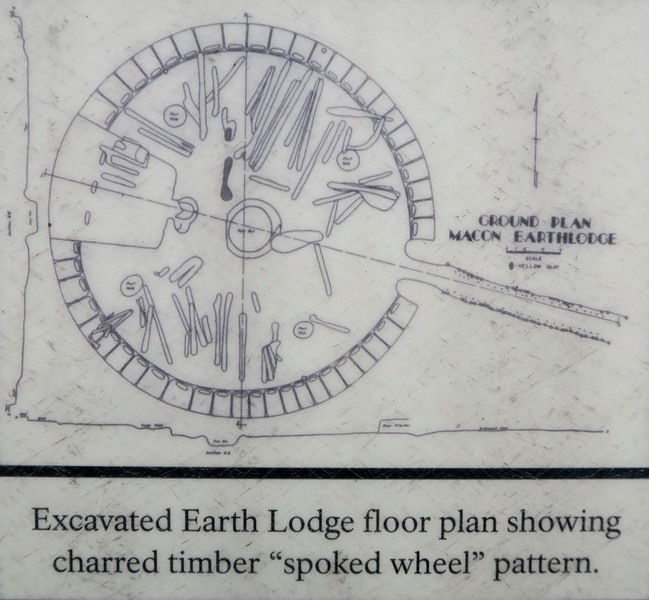Earth Lodge - Floor Plan