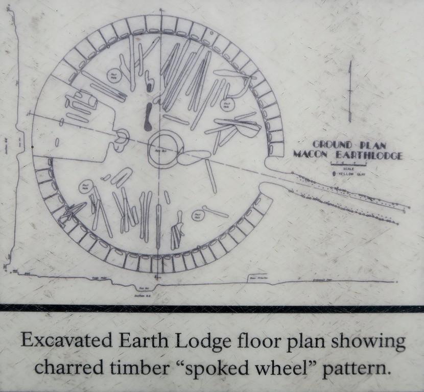 Earth Lodge - Floor Plan