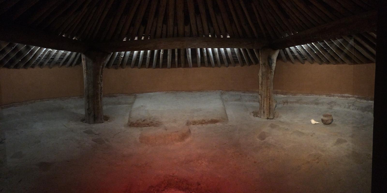 Earth Lodge - Interior