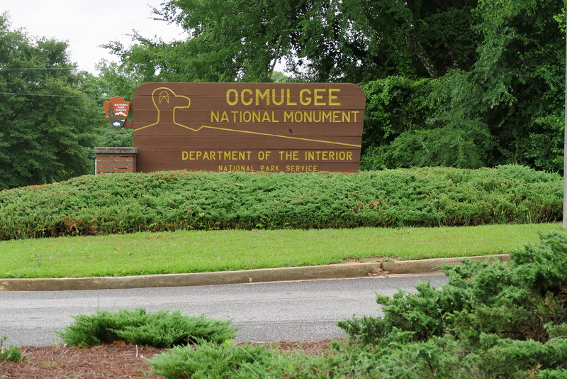 Ocmulgee National Monument Entrance